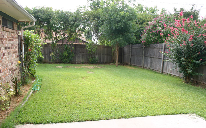 Marvelous ... Huge Backyard Of The House For Rent In Watauga, TX.